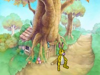 Rabbit in the 100 acre woods