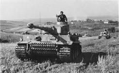 """Tiger-Panzer der Panzer-Division """"Das Reich"""""""