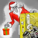Necron Lord Santa