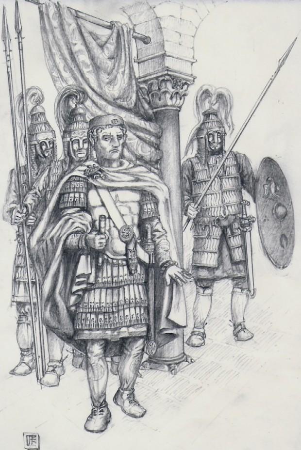 Magister Militum Flavius Aetius Ultimus Romanorum,