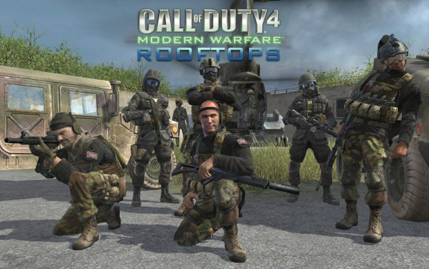 "COD4: ""Rooftops"" Upgrated Logo"
