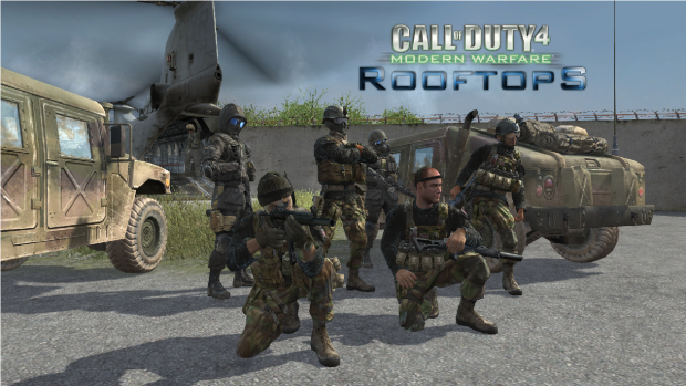 "COD4: ""Rooftops"" Side Logo"