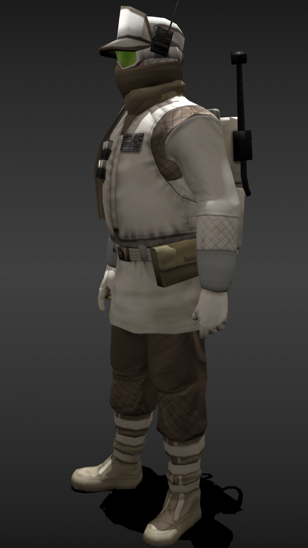Some updates on character models.