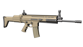 Scar H MK16 _ Texturage en cours