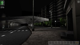 bus stop indoor/outdoor lvl merge