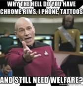 Welfare is for noobs