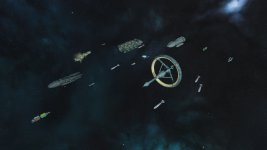The colonial fleet