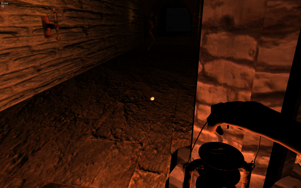 Survival Horror Game HallWay #2