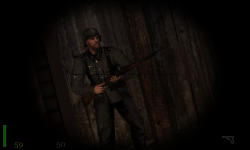 RTCW: Nazi soldier with custom model k98.