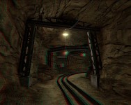 Black Mesa - On A Rail Uncut Train Tunnel 3D (Ana)