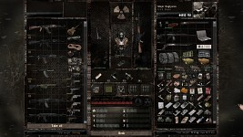 My loot after killing mercs in waste process plant