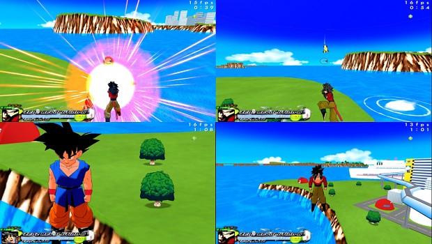 Goku kid To Adult SS4