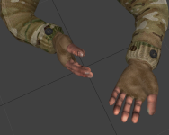Multicam skin for Navy SEALs, game BF2