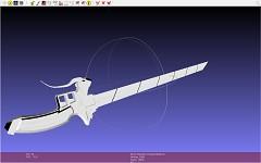Attack On Titan 3D Maneuvering Gear Blade