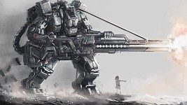 Awesome Anime Mech Wallpaper