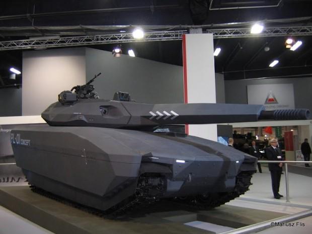 Polish Future tank