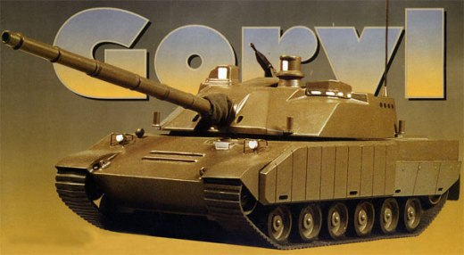 Polish tank Goryl