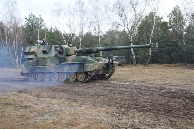 Polish howitzer Krab