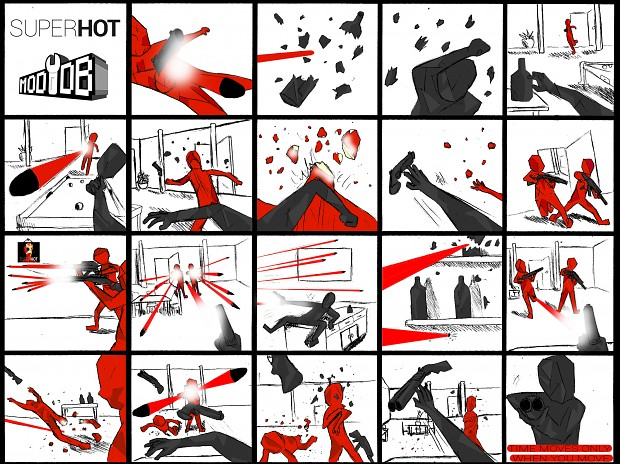 superhot hq shortcomic