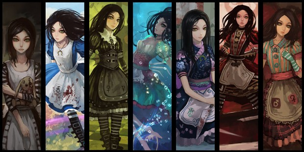 Alice's Dresses - Alice Madness Returns