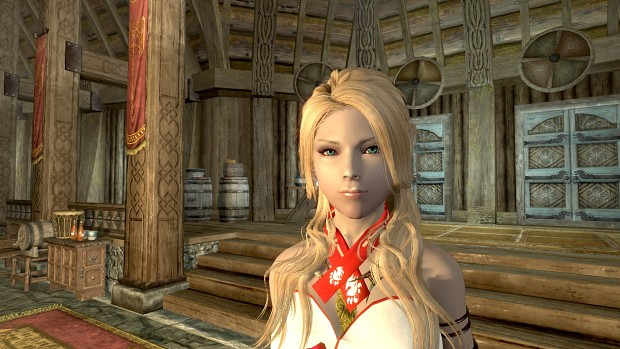 My character in Skyrim: Ir'yana Fenix