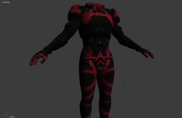 Legacy Armor for ME3 mod
