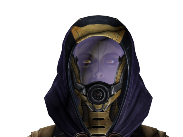 Tali Alternate Uniform Face Mod