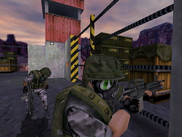Half-Life Dreamcast Early Screenshot
