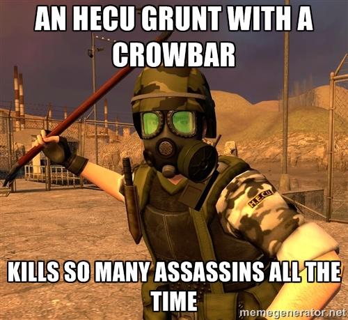 Badass HECU Grunt