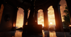 Unreal Engine 4 - Modified Mobile Temple Demo