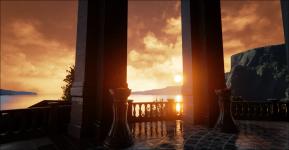 Unreal Engine 4 - Modified Mobile Temple Demo