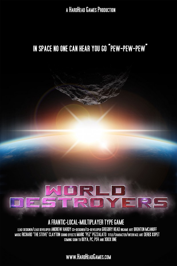 Poster for World Destroyers