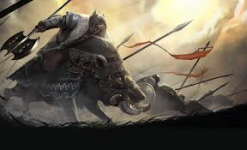 Dwarven Boar Rider