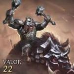 Armored Dwarven Boar Rider