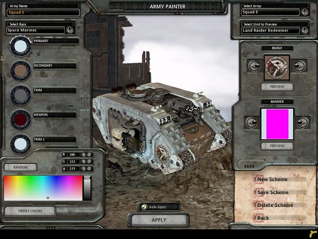Valkyria chronicles army scheme