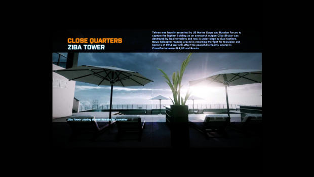Battlefield 3 Loading Screen Concept by me