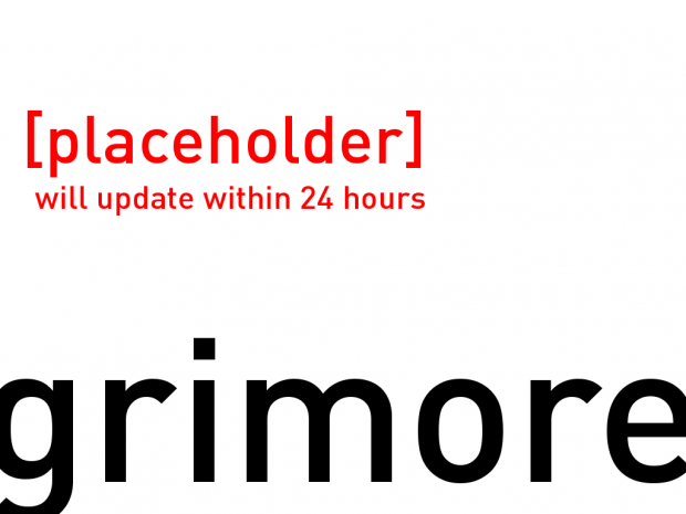 Grimore - Media Placeholder