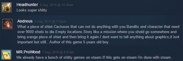 Some Steamlight Comments