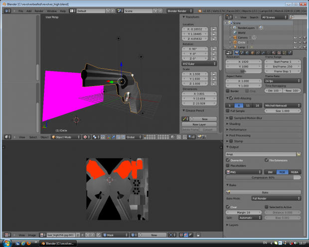 Revolver Model in Works