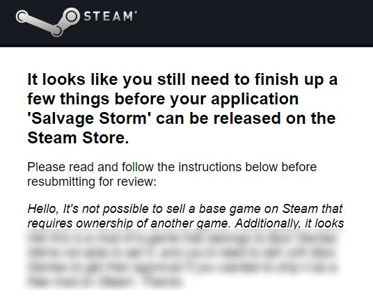 Steam Freeback