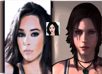 Trying to look like LC and my avatar