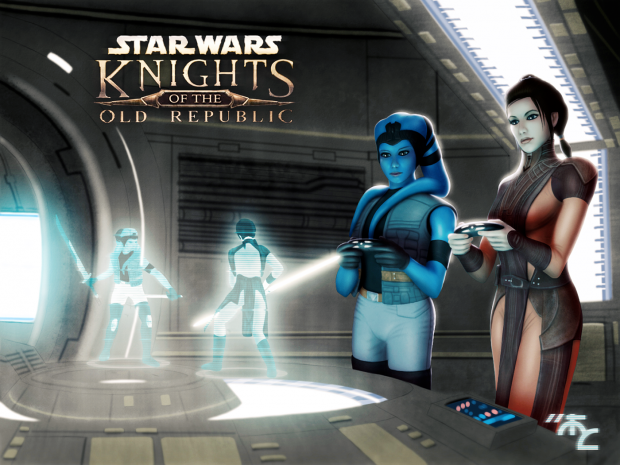 Playing Knights of The Old Republic...