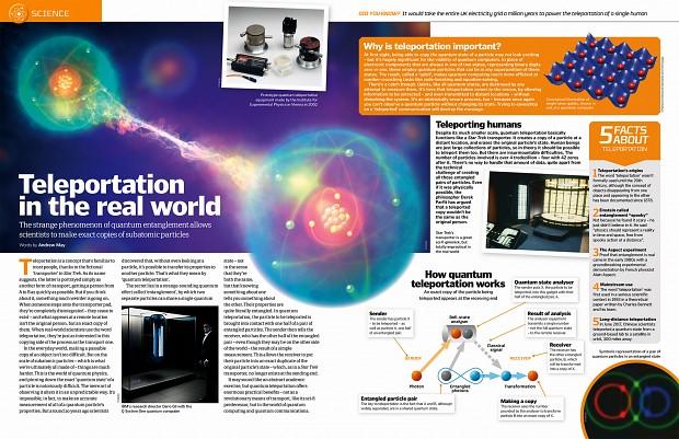 teleportation - science