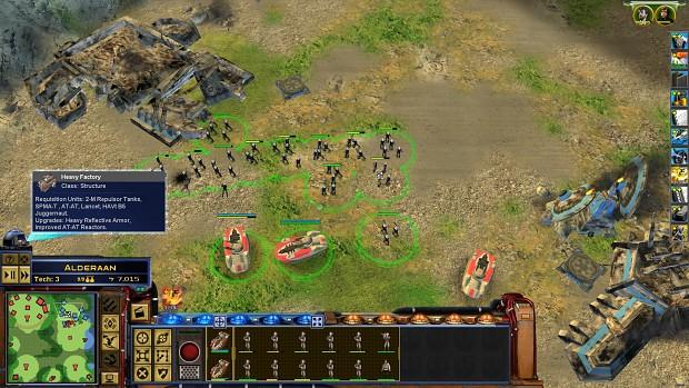 Empire at War FOC Field commander bug