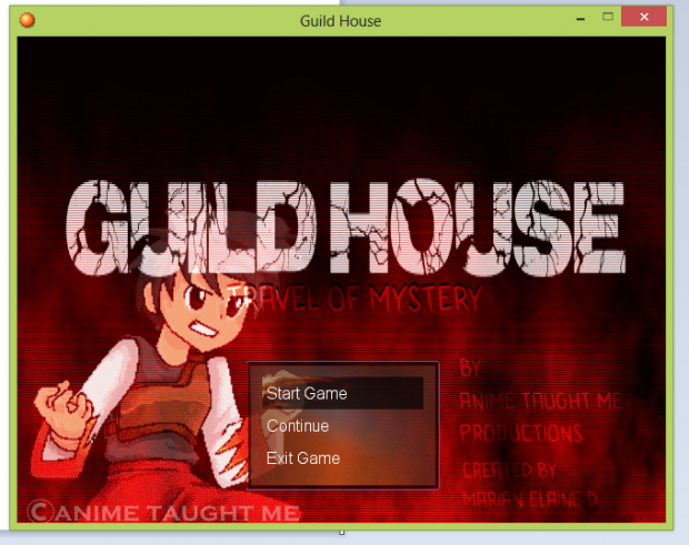 Guild House Travel of Mystery(DEMO)
