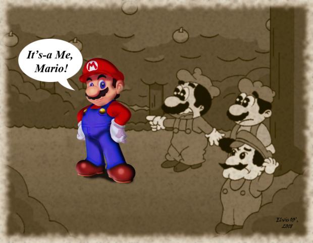 Vintage of Mario