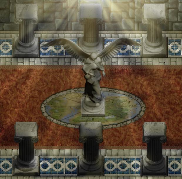 Interior Hallway of Castle
