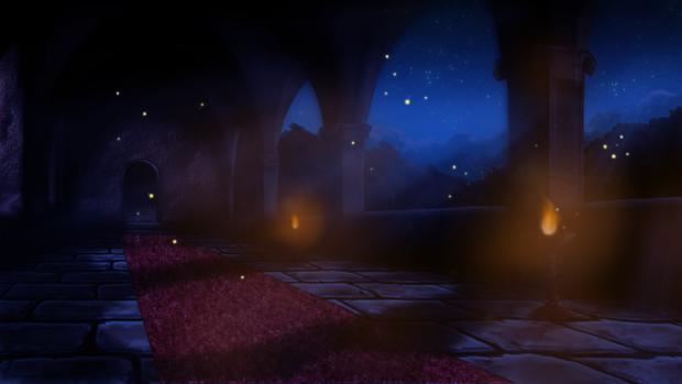 Night Interior Castle