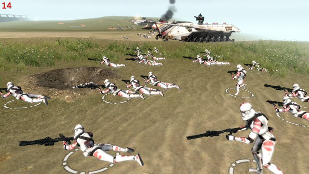 Gobilu Battalion Ph2 vs Traitors clones!