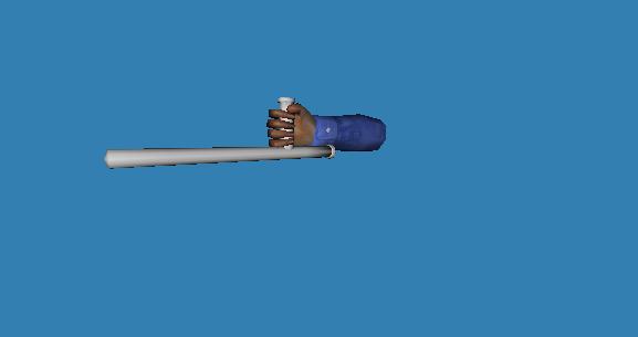 Baton Model for Half Life: Guard Duty